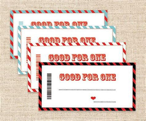 printable love coupons for your boyfriend printable coupons father s day gift blank coupons