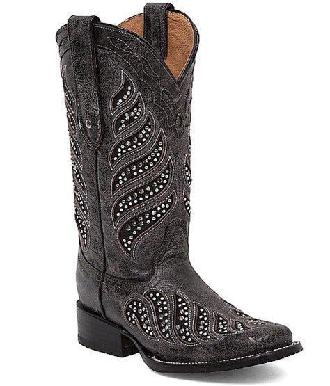 corral la joya square toe cowboy boot from buckle