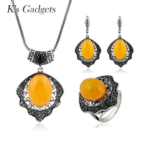 Vintage Jewelry Made New by K S Gadgets Vintage Jewelry Set New Antique Silver Color