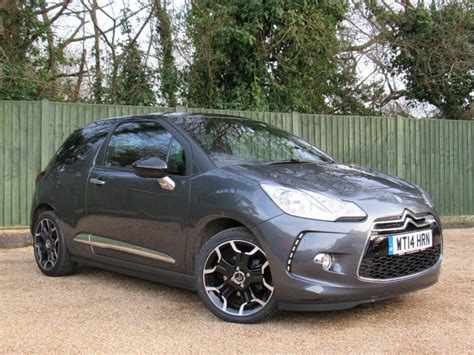 used citroen ds3 for sale used grey citroen ds3 for sale dorset