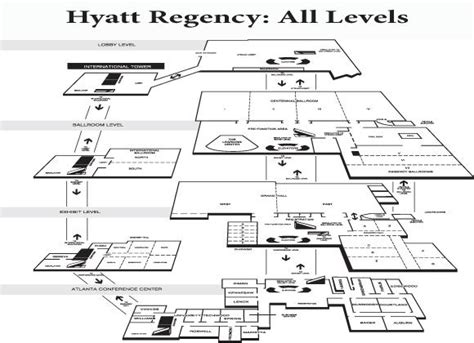 hyatt regency atlanta floor plan where to go dragoncon