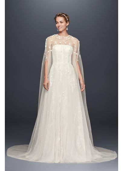 Ivory Wedding Dress Cape