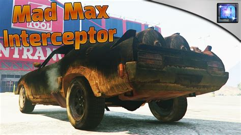 mod gta 5 mad max gta 5 pc mad max interceptor car mod youtube