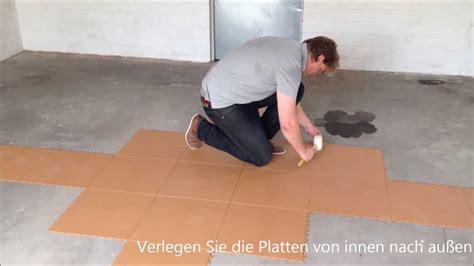 werkstatt bodenfliesen flexi tile pvc bodenbelag als garagenboden