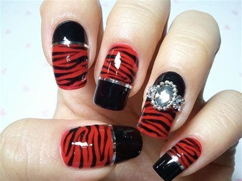 subtle nail designs women in there 40s 40 classic red nail art designs