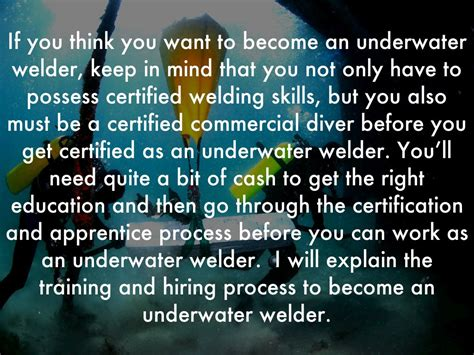 underwater welding by brandonbabb