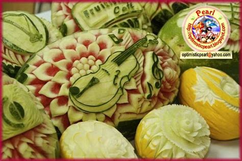 h and w vegetables fruit vegetable carving fruits and vegetables decoration