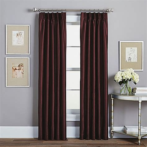 108 inch pinch pleat curtains buy spellbound pinch pleat 108 inch rod pocket lined
