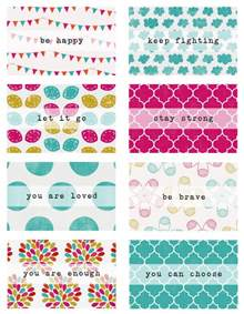 occupation free printable positive affirmation cards credit card size