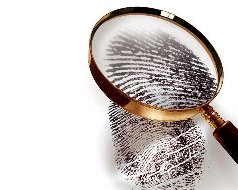 Fingerprints Criminal Background Check Fingerprint Analysis Faulty Science Cip