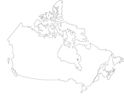 No Outline by Find The Provinces Of Canada No Outlines Quiz