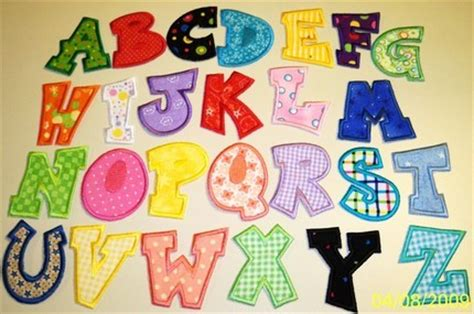 fabric letter templates fabric applique letters how to applique
