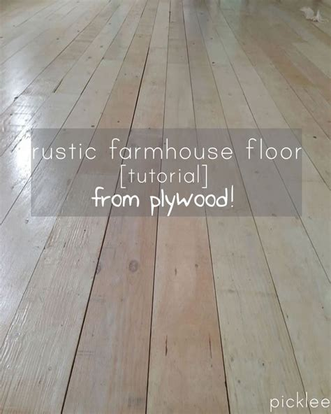 Plywood Floors Diy by Diy Plywood Floor