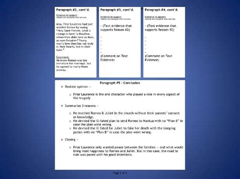 Persuasive Essay Model by Romeo Juliet Persuasive Essay Model