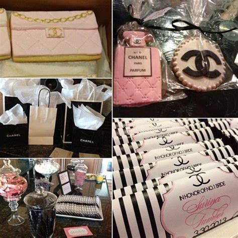 Chanel Bridal Shower by Chanel Themed Bridal Shower Our Wedding Details