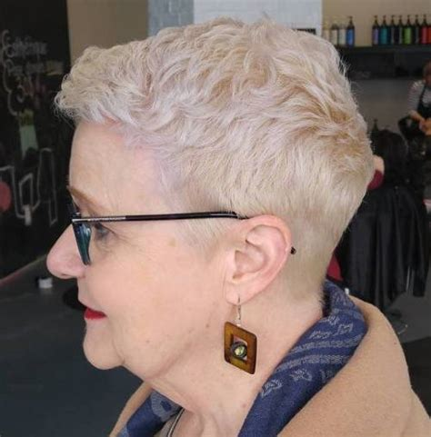 hairstyles for women over 70 with salt and pepper gray hair hairstyle short haircuts for women over 70