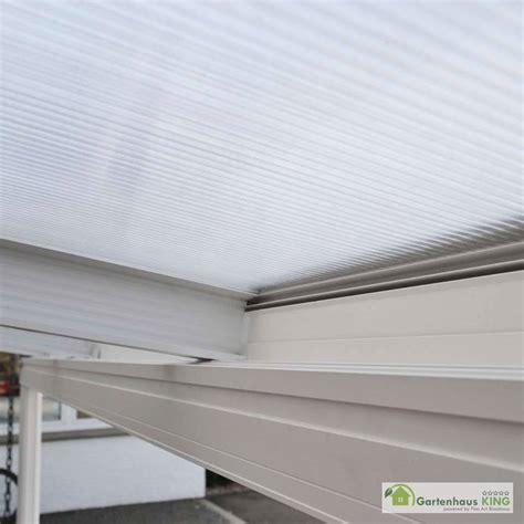Gartenhaus Aus Aluminium by Alu Terrassen 252 Berdachung Hd 1 Wei 223 Gartenhaus King De