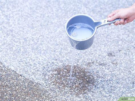uringeruch aus teppich entfernen uringeruch aus beton entfernen wikihow