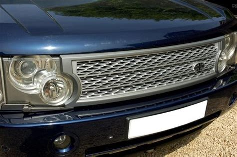 supercharged grille conversion kit silver & grey range