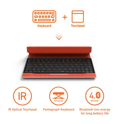 designboom wooden keyboard moky keyboard combines a touchpad to allow users to