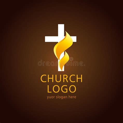 free church logo design