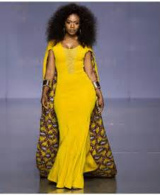 Latest kitenge dresses long caped african print dress png