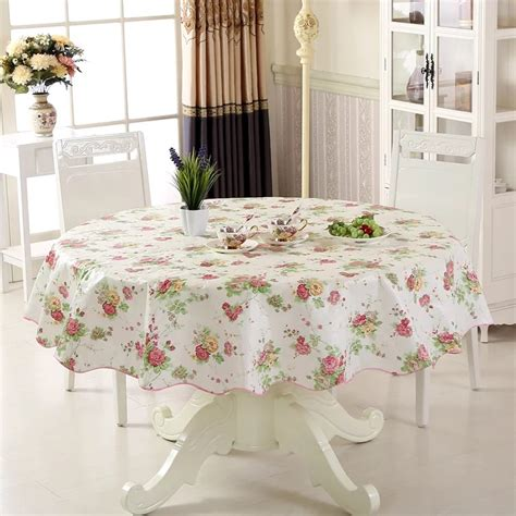 kitchen table covers vinyl waterproof oilproof wipe clean pvc vinyl tablecloth dining kitchen table cover protector