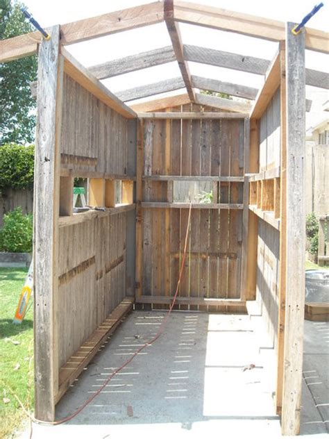 Building A Box Blind box blind from re purposed fence by gunpowder