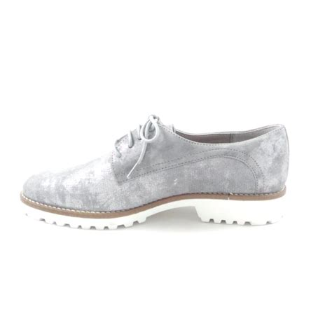 rohde silver grey nubuck lace up casual shoe rohde from