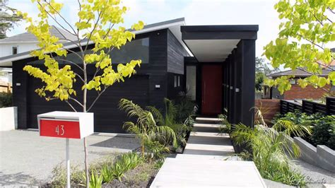 modern curb appeal a modern mailbox improves your home s curb appeal