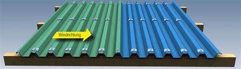 Bitumenwellplatten Ohne Konterlattung by Trapezblech W20 1100 Dachplatten Sonderposten Stahl 0 4mm