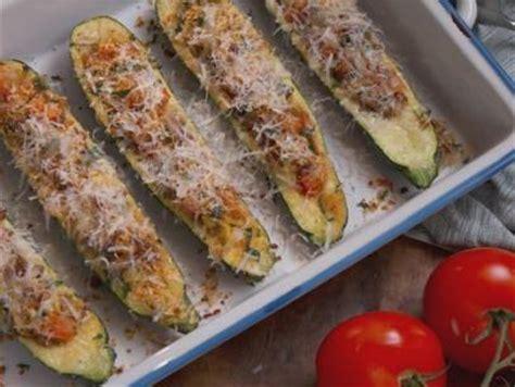 ina garten zucchini boats sausage stuffed zucchini boats recipe nancy fuller
