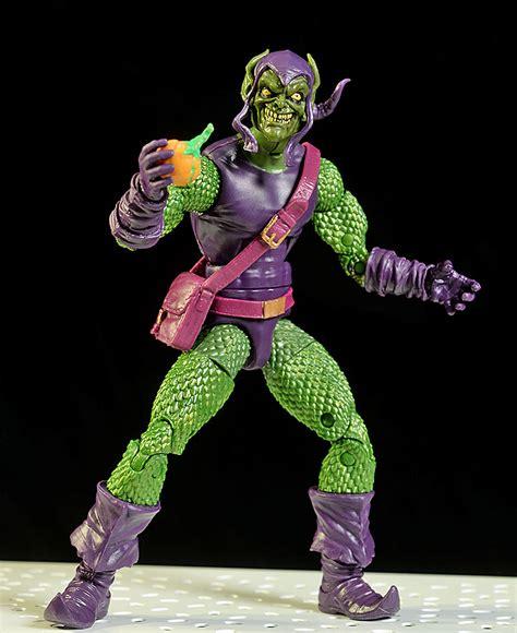 Green Goblin Figure Marvel review and photos of sandman green goblin spider shocker marvel legends figures
