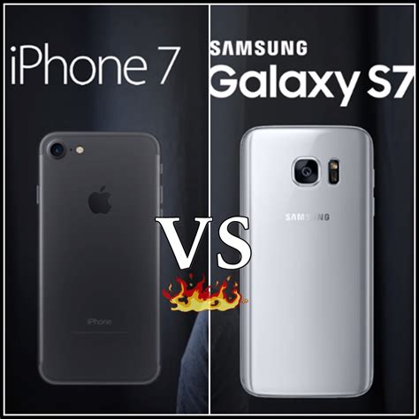 iphone v samsung samsung galaxy s7 vs iphone 7 comparsion studyofcs tricks computer mobile