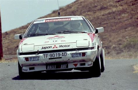 mitsubishi starion rally car mitsubishi starion turbo starion s pinterest cars