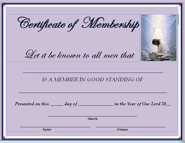 free membership certificate template website church templates free new calendar template site