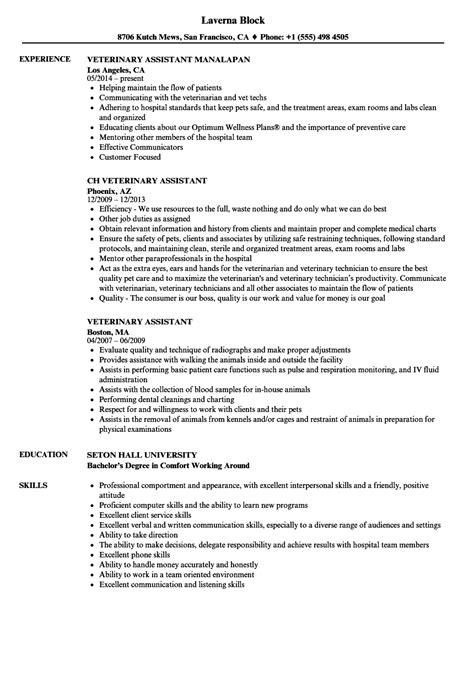 10 veterinary technician resume job apply form confortable resume