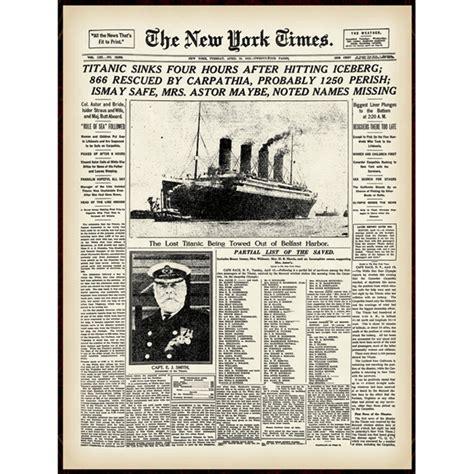 Times New new york times titanic portfolio shoptv
