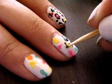 leopard nail art tutorial youtube colorful cheetah nail art tutorial youtube