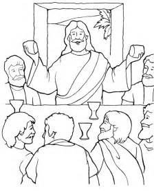 last supper coloring page the privilege of serving luke 22 14 30 sunday school