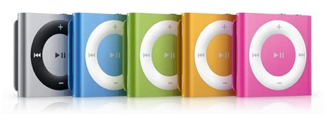 Ipod Shuffle Now In Color by New Ipods 8 Colors New Touches And Tweaked Nanos