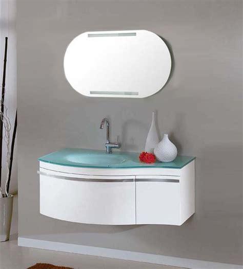 lavabo bagno sospeso offerta arredo bagno mobile taunus con lavabo in cristallo
