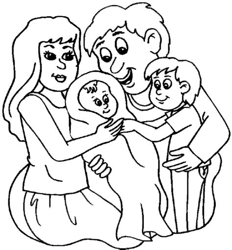family portrait coloring page mothers day coloring pages family portrait mothers day