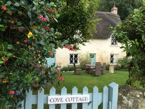 Cottage Lulworth Cove by Cycling In Dorset On The Jurassic Coast On