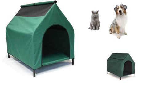 raised pet bed waterproof elevated dog house flea resistant raised pet
