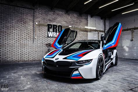bmw i8 modified custom wrapped bmw i8 by prowrap in the netherlands gtspirit