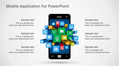 Android Powerpoint Template Clipart Slidemodel Mobile App Estimation Template