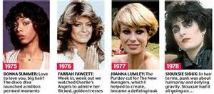 1975 hairstyles for beyond the fringe from the purdey to the 50 years