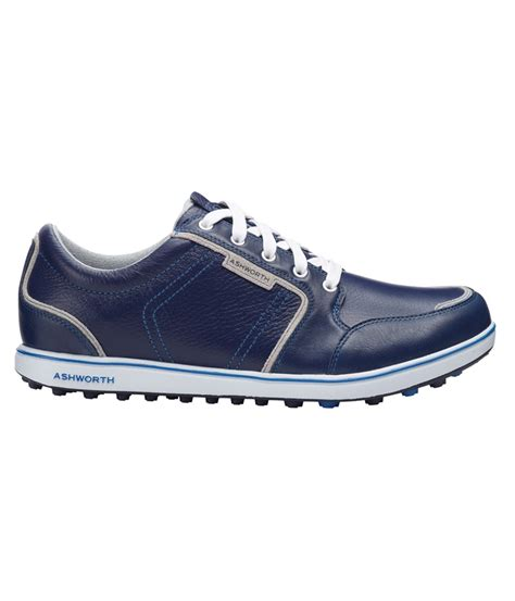 ashworth golf shoes ashworth mens leather cardiff adc golf shoes golfonline
