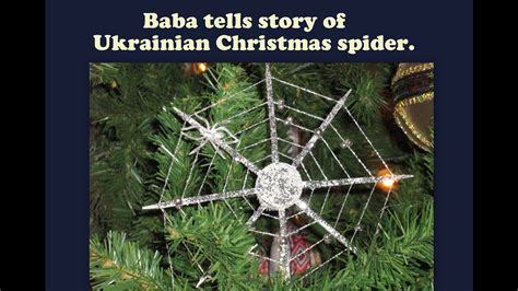 why are spider webs a popular christmas decoration in